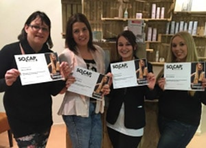 Salon Training hairextensions