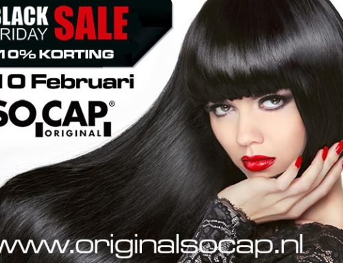 Black Friday, 10% korting op hairextensions en weft extensions.