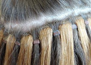 hairweave met microringen laten plaatsen