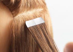 tape extensions laten plaatsen