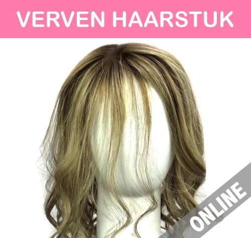 Haarstuk verven